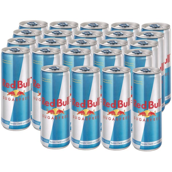 Red Bull Sugarfree 24 × 25 cl