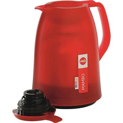 Isolierkanne 1 Liter rot