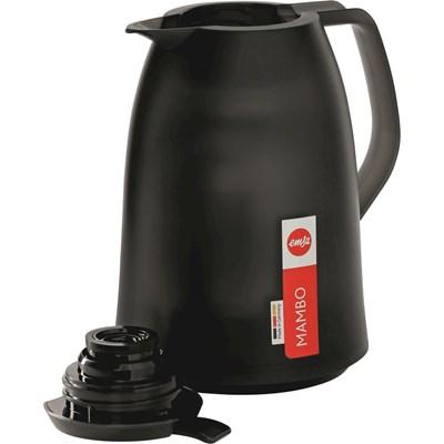Isolierkanne 1 Liter schwarz
