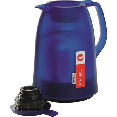 Isolierkanne 1 Liter blau