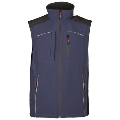 Gilet softshell hommes t. S