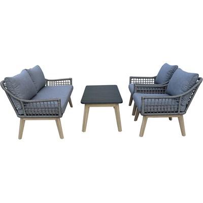 Lounge Set Alu Rope