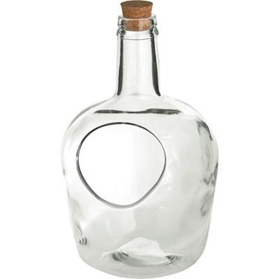 Glasflaschen Garten klein