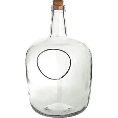 Glasflaschen Garten gross