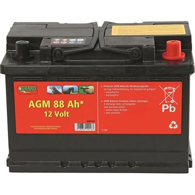 Batterie Agraro AGM 88Ah, 12V