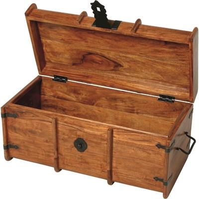 Schatztruhe Holz gross