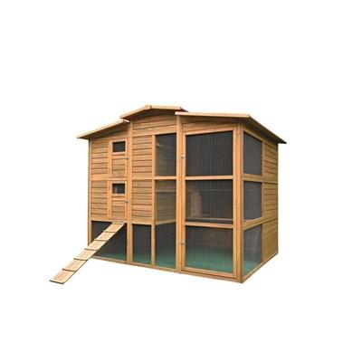 Hühnerhaus 204 × 155 × 175 cm