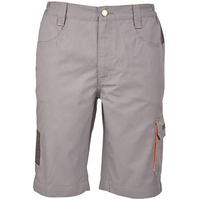 Shorts grau/orange Gr. XXXL