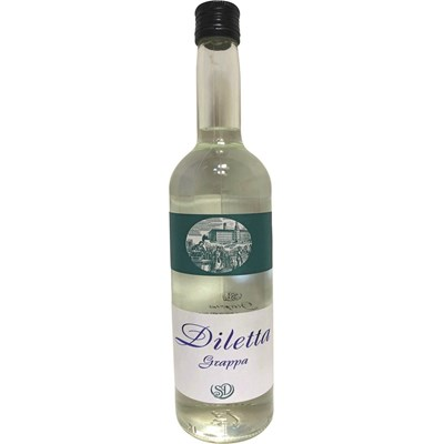 Grappa Diletta 38 % 70 cl