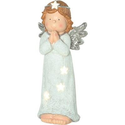 Engel stehend mit LED