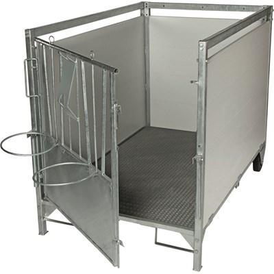 Kälberbox gross 160 × 100 × 106 cm