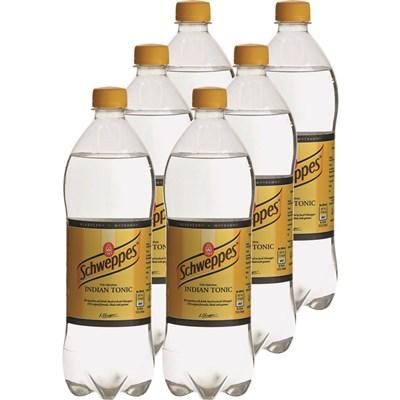 Schweppes Indian Tonic 6 × 900 ml