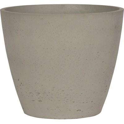 Topf Cement Natural 38×32cm