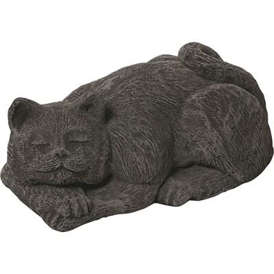 Deko Katze liegend