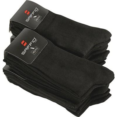 Socken schwarz 20er 40-43