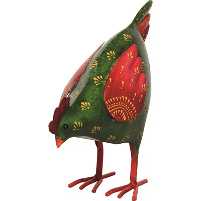 Huhn Inga grün