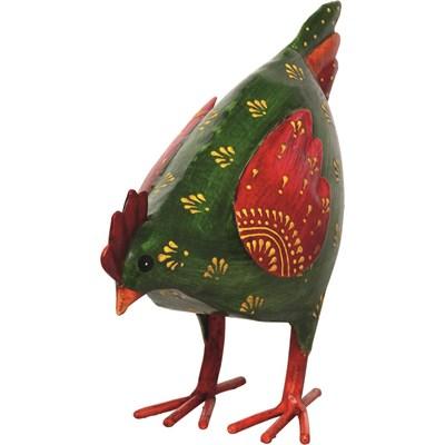 Huhn klein Ingine grün