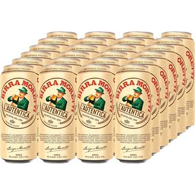 Bier Moretti Dose 24 × 50 cl