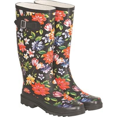 Regenstiefel floral 36