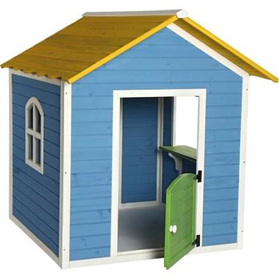Spielhaus aus Holz