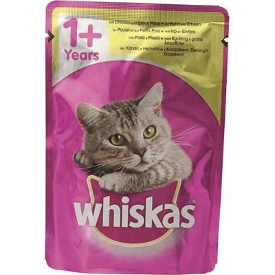 Katzenfutter Whiskas 40 × 100 g