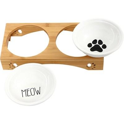 Napfset für Katzen 2 × 250 ml