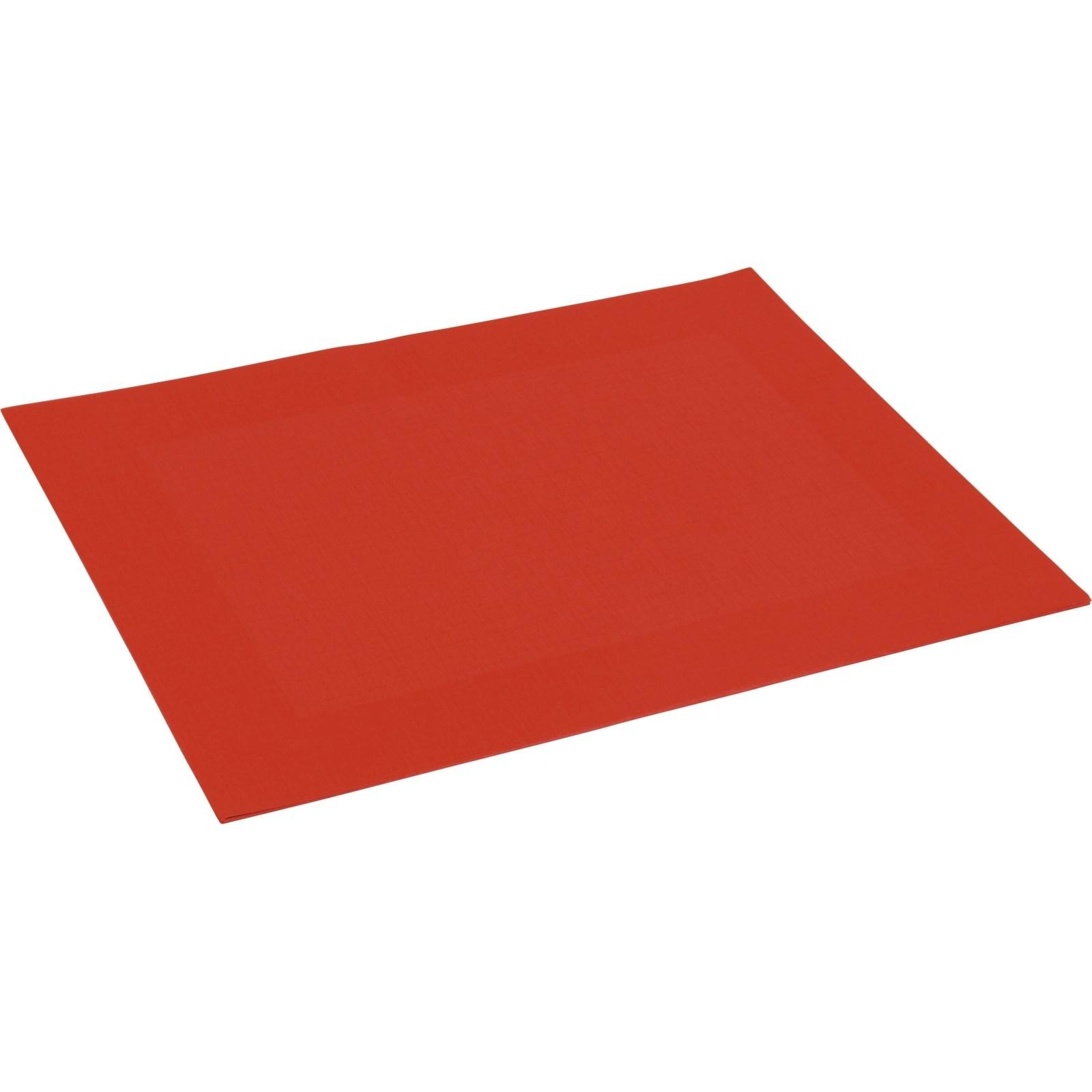 Tischset Rot 30 40 Cm Servietten Gedecke Landi