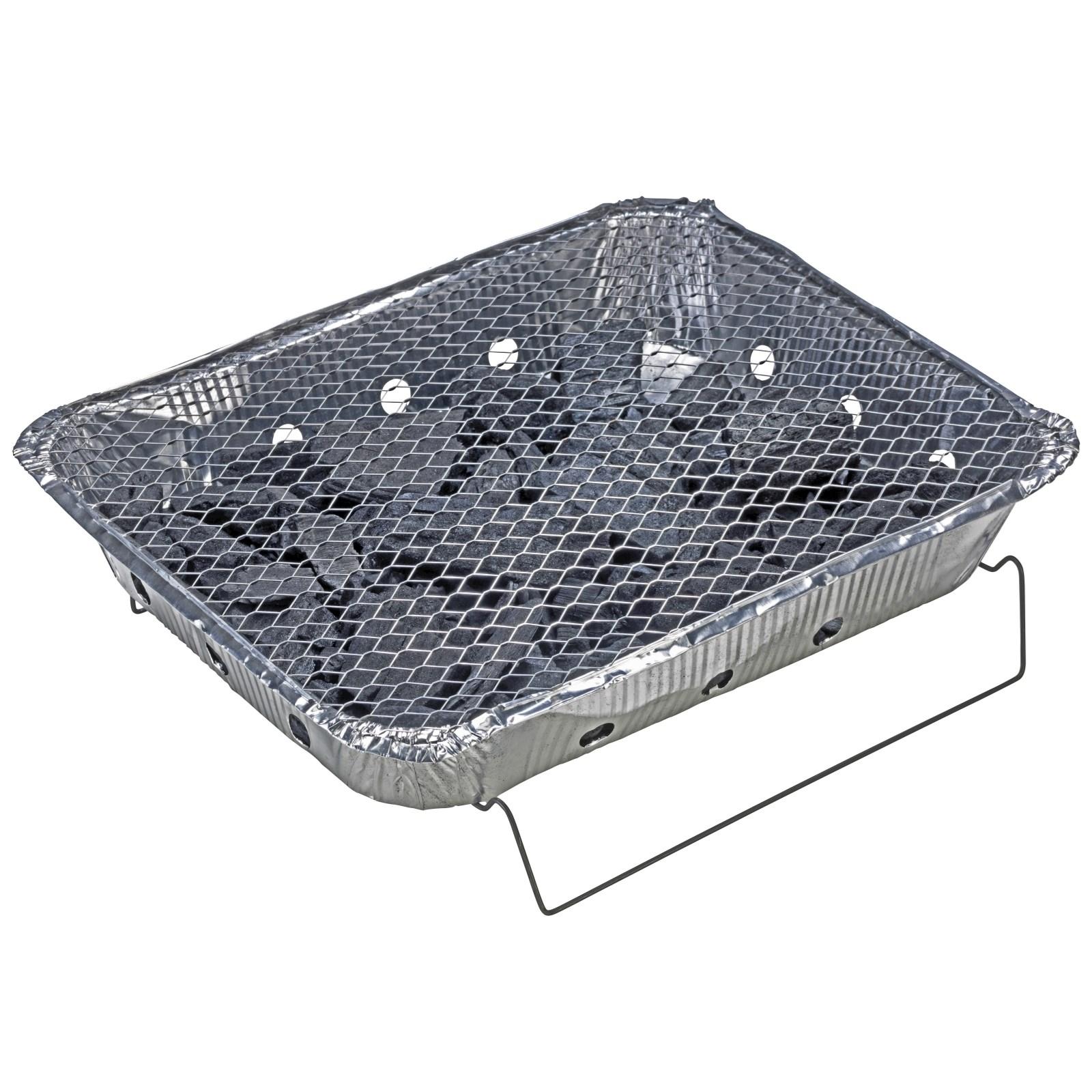 einweggrill grill club 31 × 25 cm - holzkohlegrill - landi