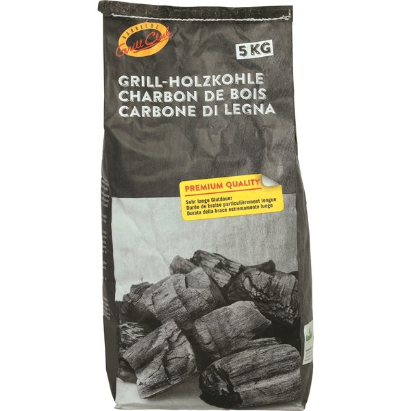 Holzkohle Grill Club 5 kg