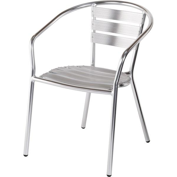 chaise alu meubles d 39 ext rieur landi. Black Bedroom Furniture Sets. Home Design Ideas
