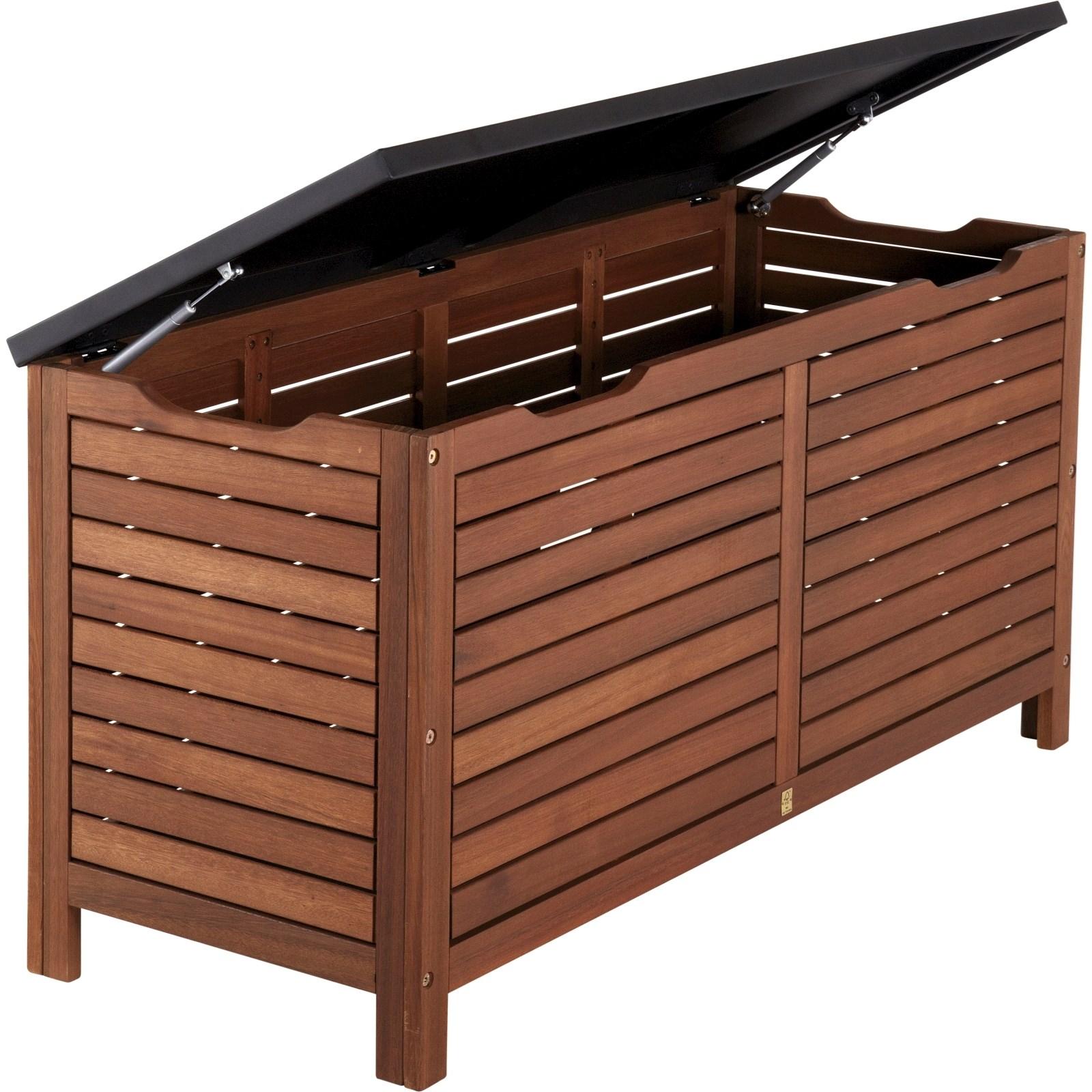 Coffre A Coussin Exterieur boîte à coussins 62 × 50 × 128 cm - meubles d'extérieur - landi