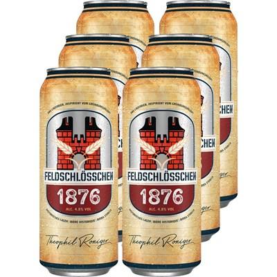 Bier Feld. 1876 6 × 50 cl
