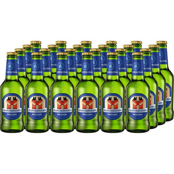 lagerbier feld original 24 33 cl biere mit alkohol landi. Black Bedroom Furniture Sets. Home Design Ideas