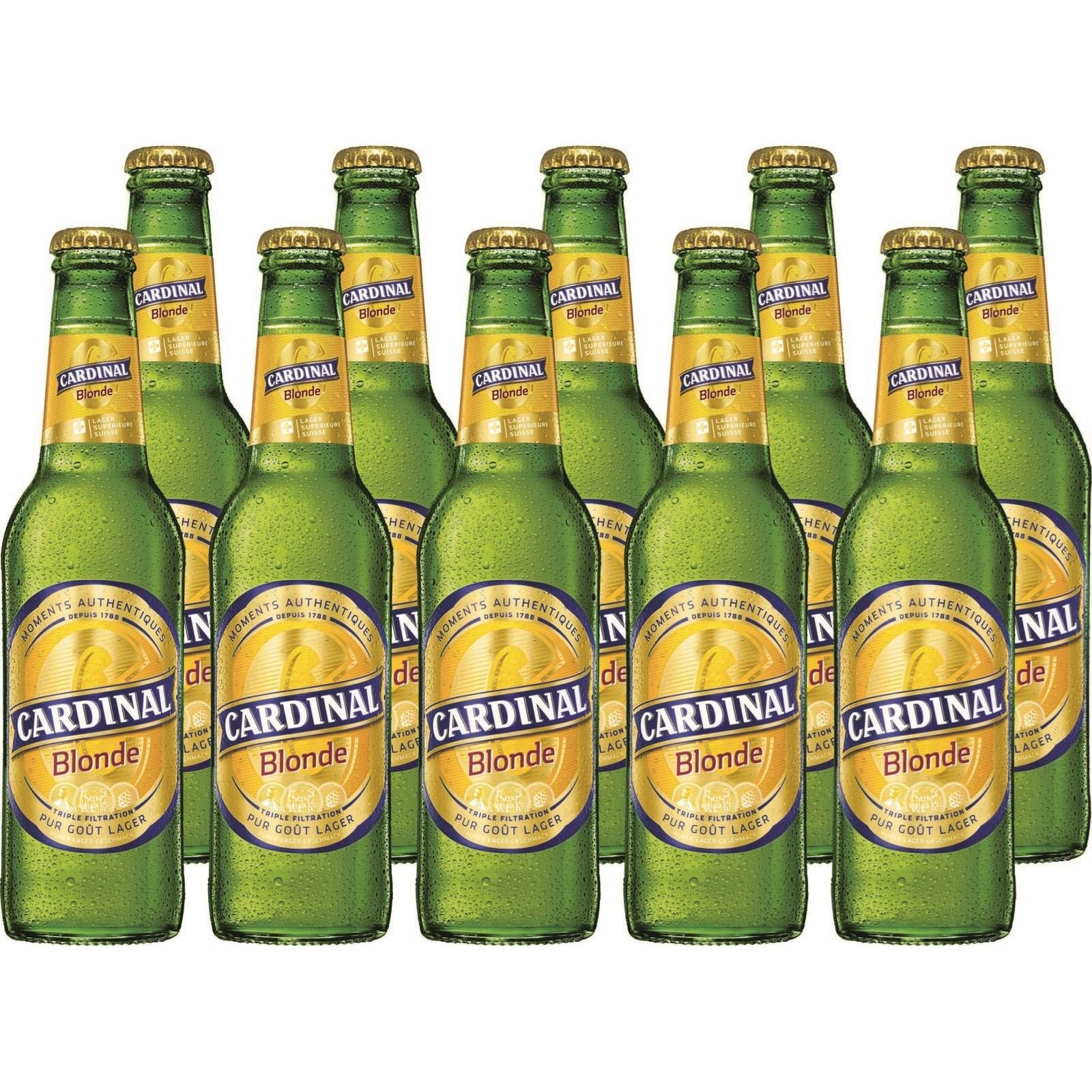 bier cardinal blonde 10 33 cl biere mit alkohol landi. Black Bedroom Furniture Sets. Home Design Ideas