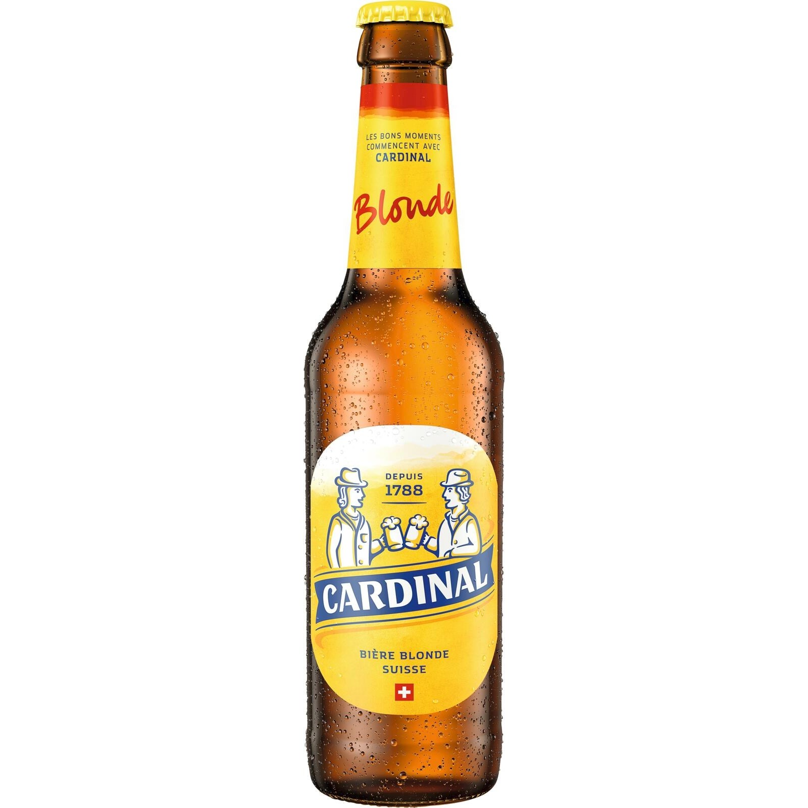 bier cardinal blonde mw 33 cl biere mit alkohol landi. Black Bedroom Furniture Sets. Home Design Ideas