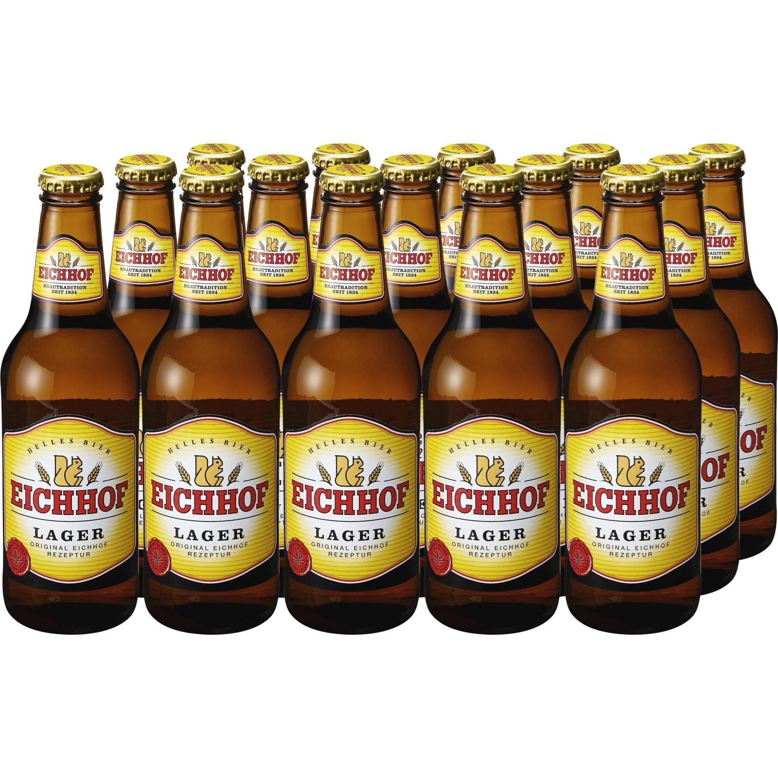 lagerbier eichhof hell 15 33 cl biere mit alkohol landi. Black Bedroom Furniture Sets. Home Design Ideas