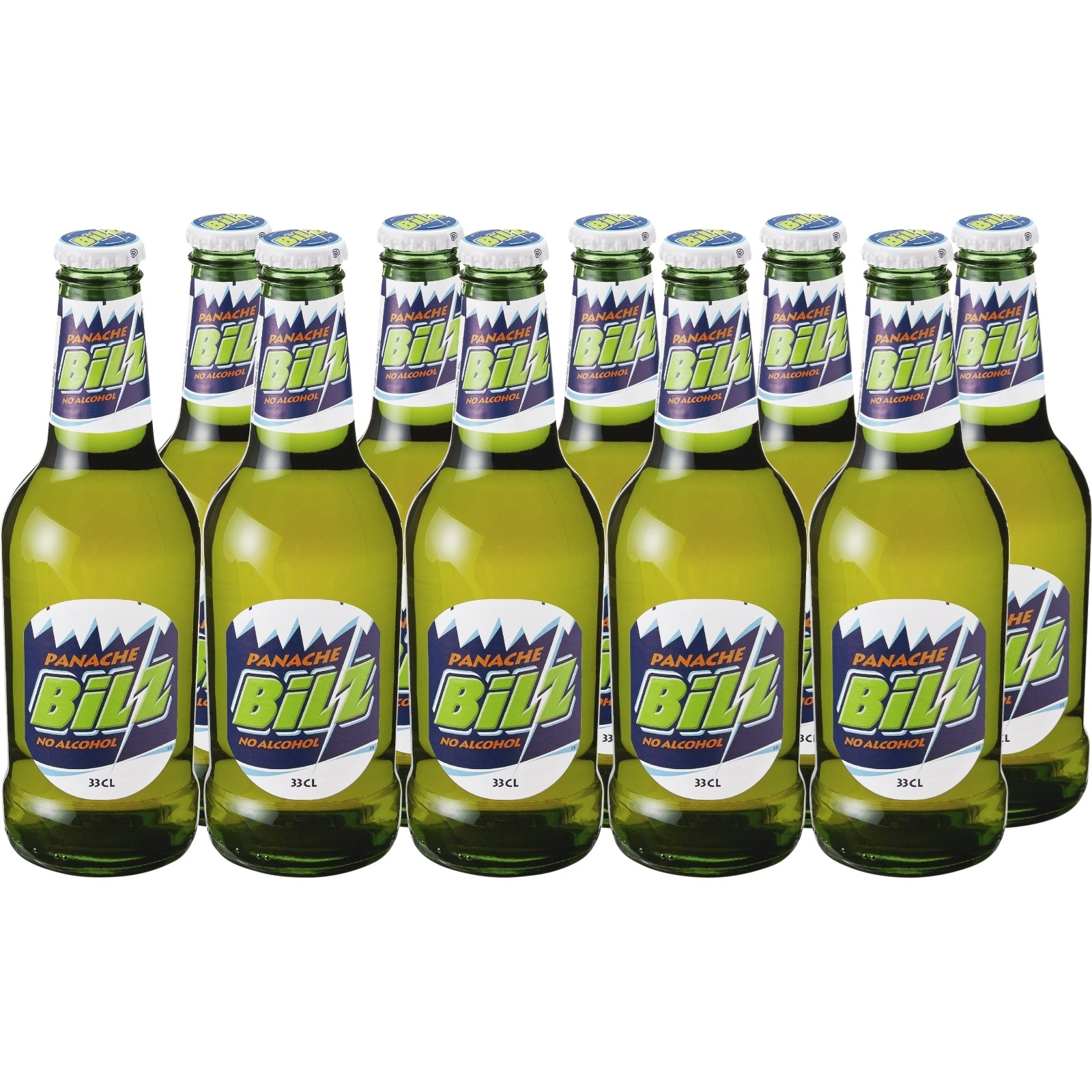 Panaché Bilz 10 × 33 cl - Biere ohne Alkohol - LANDI