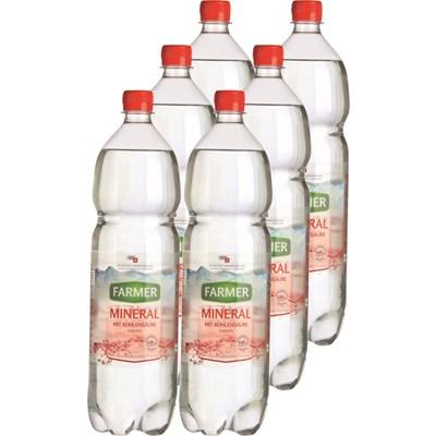 Mineralwasser Farmer rot 6×150cl