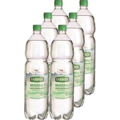 Mineralwasser Farmer grün 6×150cl