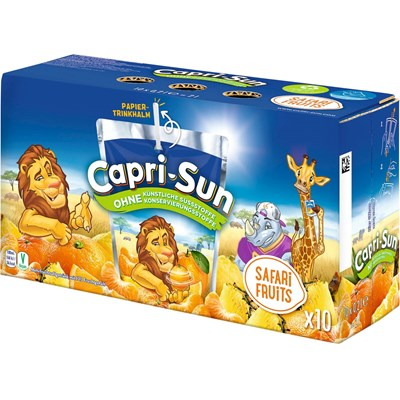 Capri-Sun Safari 10 × 20 cl