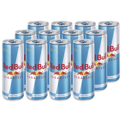Red Bull Sugarfree 12 x 250 ml