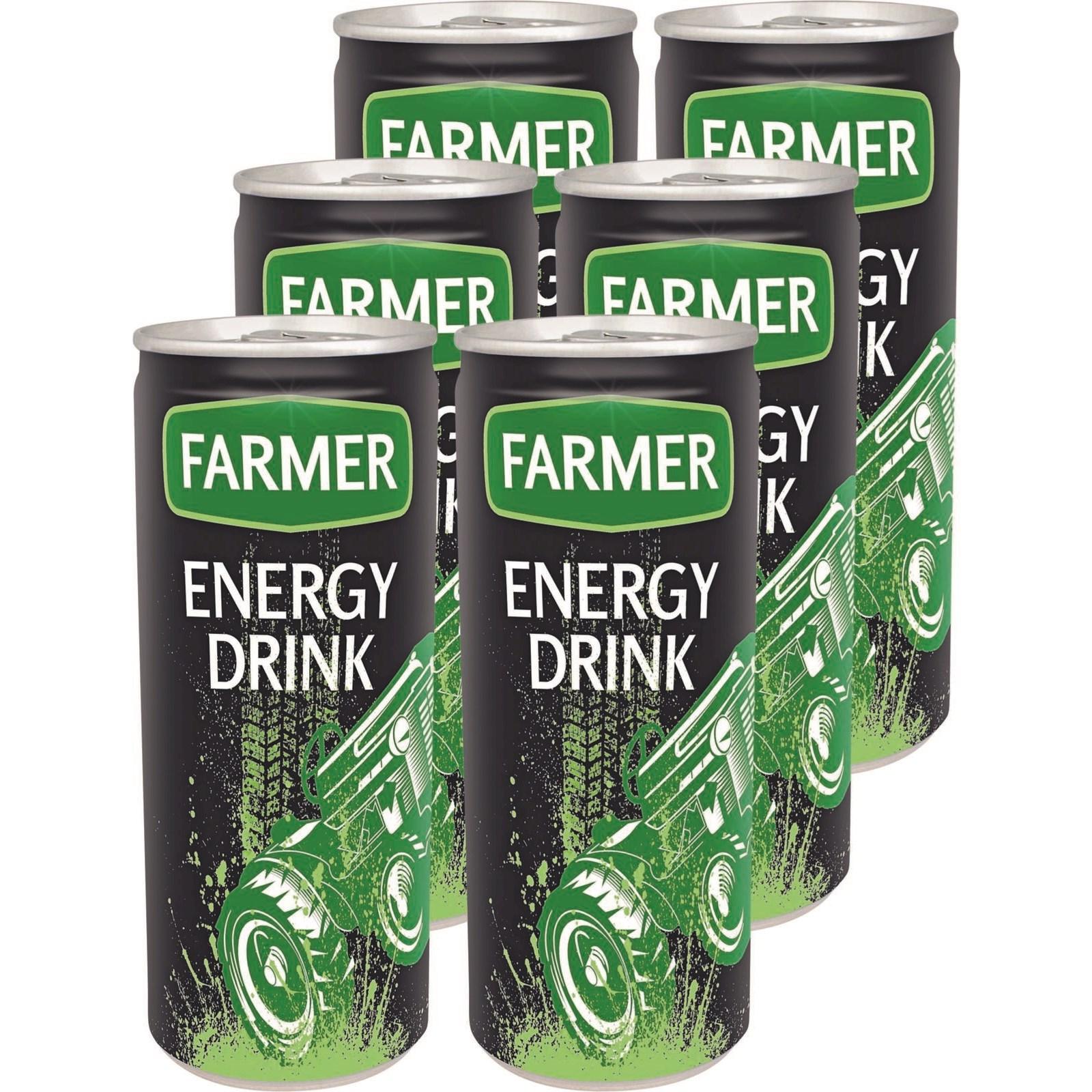 Energy Drink Farmer Dose 6 × 25 cl - Energy Drinks - LANDI