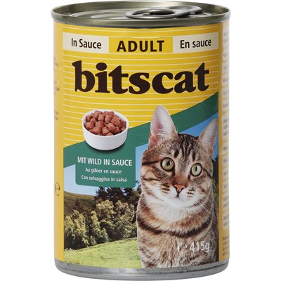 Aliment pour chats gibier 20×415g