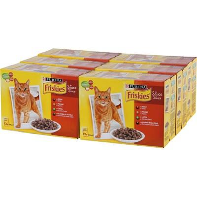 Katzenfutter Friskies 72 × 100 g