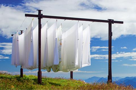 Für saubere Wäsche