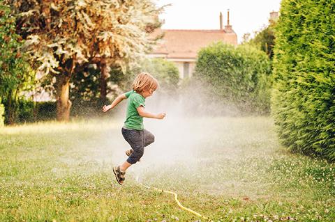 Gartenspiele für Kinder