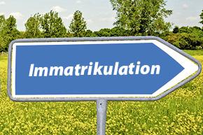 Fahrzeug-Immatrikulation