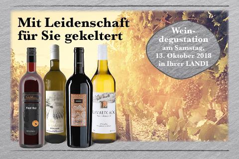 Die LANDI Weinwelt