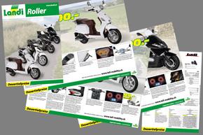 Flyer Roller Tell